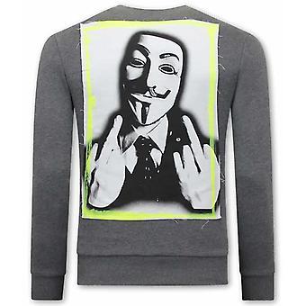 Anonymous Sweater - Grey