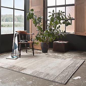 Weconhome Deja Vu Border Rugs 00328 070 In Beige Grey