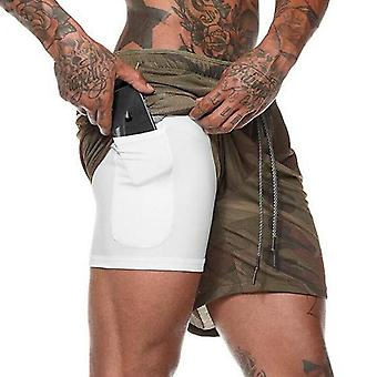 Men's Hose Gyms Fitness Bodybuilding Workout Quick-Dry Beach Joggershorts