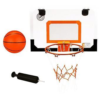 Uusi Port Mini -koripallosarja korilla, pallolla ja pumpulla 16NA