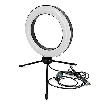 Ring Light 15.5cm with 3 Lights with Mini-trestle USB cable 2m Remote control