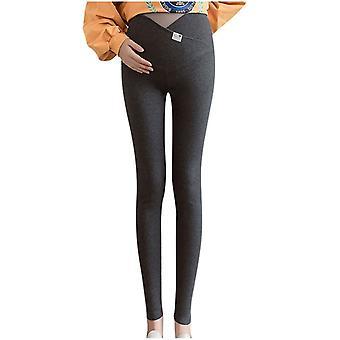 Schwangere Gravida hohe Taille Leggings, dehnbare Bleistift hose