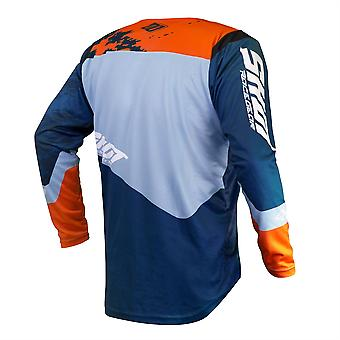 2020 Shot Contact MX Jersey Adult - Shadow Blue Orange