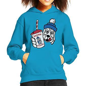 Slush Puppie Retro Cup Logo Kid's Hooded Sweatshirt