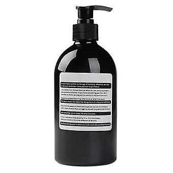 Brown Bathroom Shower Gel Refillable Shampoo Bottle Wash Hair Conditioner
