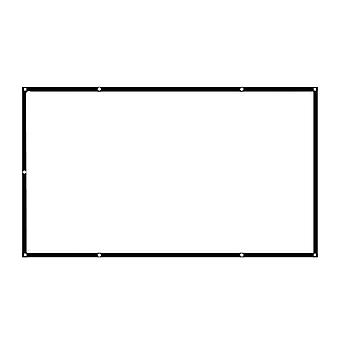 Eenvoudig opvouwbaar scherm voor projector