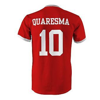Ricardo Quaresma 10 Portugal Country Ringer T-Shirt