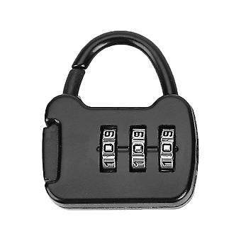 3 Digit Code Kombination Passwort-Sperre Tragbare Reise Mini Zink tragen