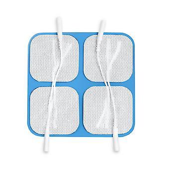 Blue Gel ElektrodenPads 50x50mm für TENS, EMS & IFT Units (Pack von 3)