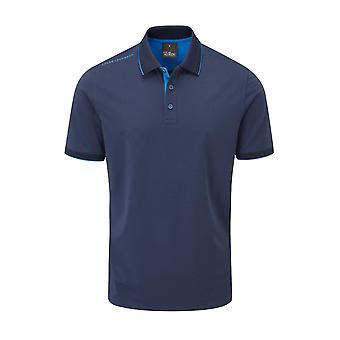 Oscar Jacobson Mens Brandon Polo Shirt Short Sleeve Performance Top
