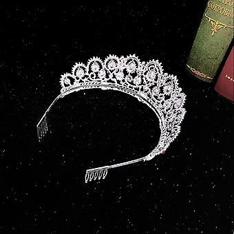 Crown Crystal Hoofdband voor Bruiloft