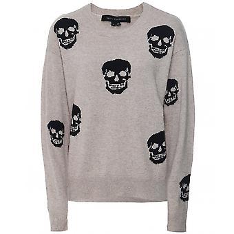 360 Cashmere Cashmere Anabella Skull Sweater