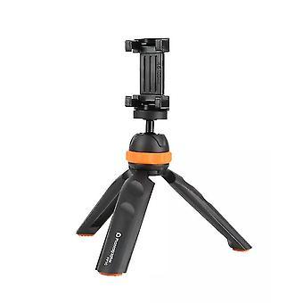 Mini stativ desktop lodret skydning vlog håndtag til telefonens kamera