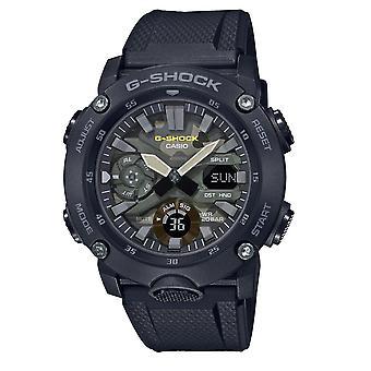 G-Shock Ga-2000su-1aer Camouflage Black Resin Analog & Digital Men's Watch