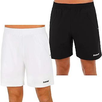 Babolat Mens Match Core 360 Motion Tennis Badminton Squash Sports Shorts Blk/Wht