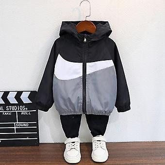 New Autumn Hooded Outerwear Fall Jackets - Kids Trench