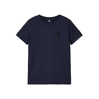 Name-it Boys Plain Blue Tshirt Tano Dark Sappire