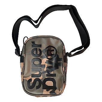 Superdry Side Bag - Green Camo Tarp