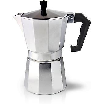 Gerui ECM-09 Italian Style Aluminium Espresso Coffee Maker, 9 Cup (360ml)