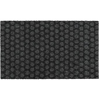 MOCAVI Steg 330 Design dörrmatta kantlös antracit 60 x 100 cm ren mattor prickar