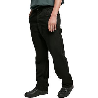 Urban Classics - Spodnie stolarskie spodnie luźne spodnie czarne