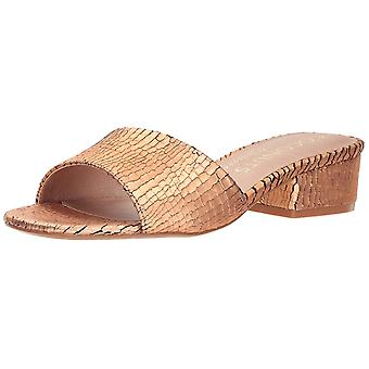 Coconuts Womens Penny Lane Fabric Open Toe Casual Slide Sandals