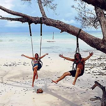 Swing Hammock Tree Mat & Hanging Kit Strap