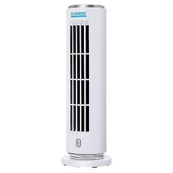 Ventilador silencioso de la torre de refrigeración de escritorio blanco 10.2x10.2x31.7cm