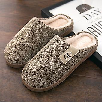 Fashion Winter Warm Fur Slides House Shoes