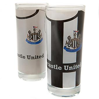 Newcastle United FC Highball Cocktail Glass (Pack of 2)