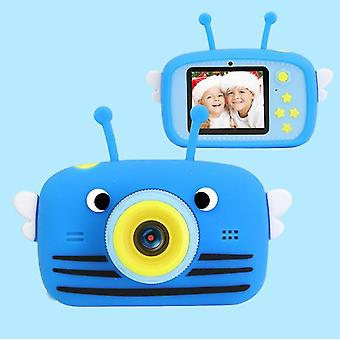 Albina albastru portabil full-hd 1080p digital mini aparat de fotografiat pentru copii az963