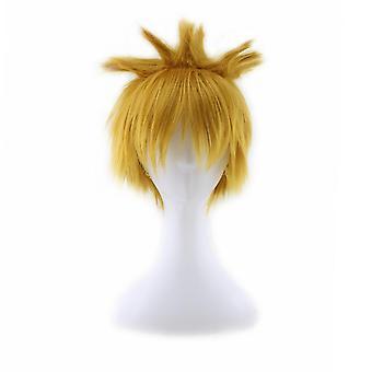 Anime parykker Uzumaki Naruto Party syntetisk hår parykker
