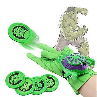 Green the season toys kids superhero magic gloves with wrist ejection launcher x7177