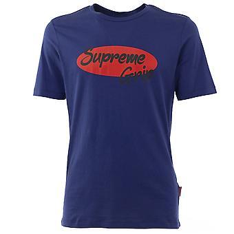 Supreme Grip Men T-Shirt  Navy
