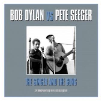 Bob Dylan vs Pete Seeger - Sångaren och låten Vinyl