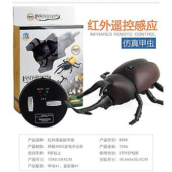 Robotic insect prank toys trick electronic pet rc simulation scorpion beetle remote control smart animal model children gift