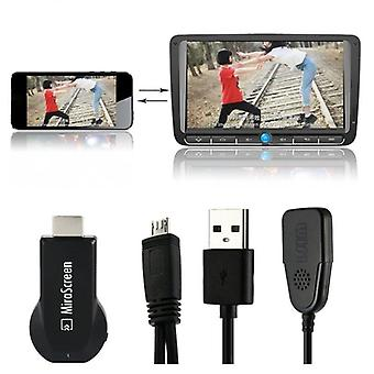 Tv Stick, Hdmi-compatible Hd Dongle, Wireless Wifi Receiver, Dlna, Airplay