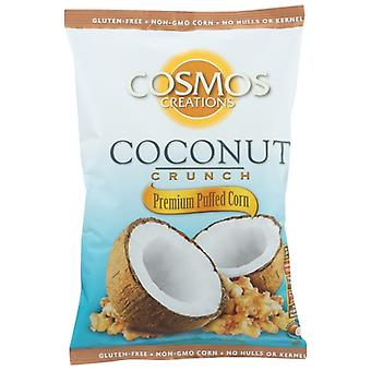 Cosmos Creations Puffed Corn Ccnut Crnch, Case of 12 X 6.5 Oz