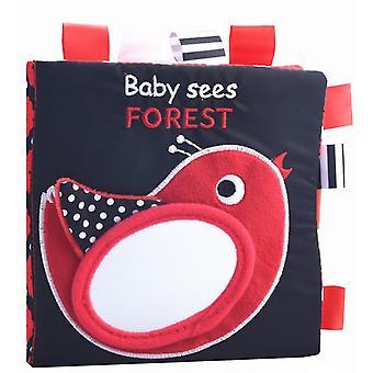 2шт маленькая птичка зрение зрение релиз книга, животный английский алфавит учебная книга az10024