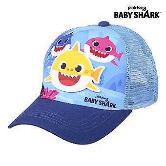Barnmössa Baby Shark Blå (51 cm)