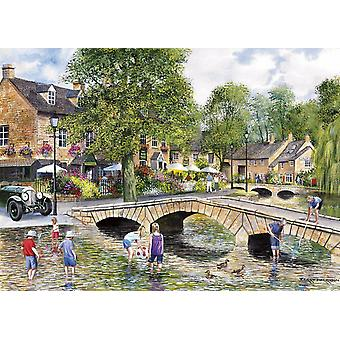 Gibsons Bourton-on-the-Water Jigsaw Puzzle (1000 Pièces)