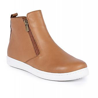 Lunar Jayde Tan Leather Ankle Boot