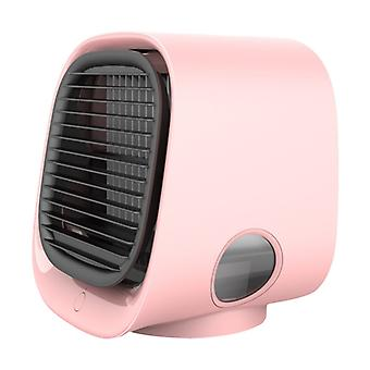 Mini fans desktop air conditioner with night light mini usb water cooling fan