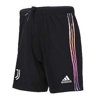 2021-2022 Juventus Away Shortsit (Musta) - Kids