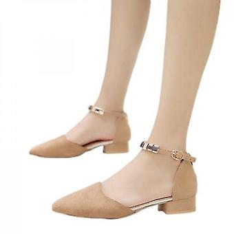 New Single Shoe With Small Heels And Thin Heels