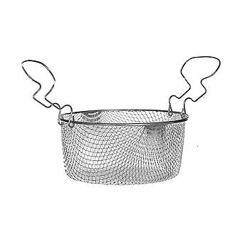Large Fryer Basket With Curved Handle