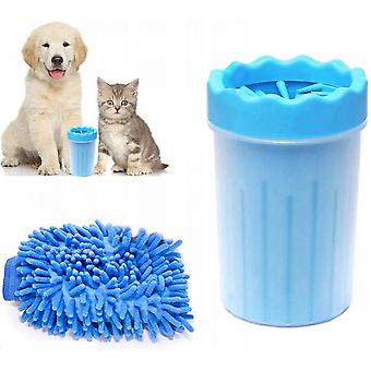 Cleaner For Dog Legs, Animal Leg Cleaner With Towel, Pet Small Pet Cleaning Brush