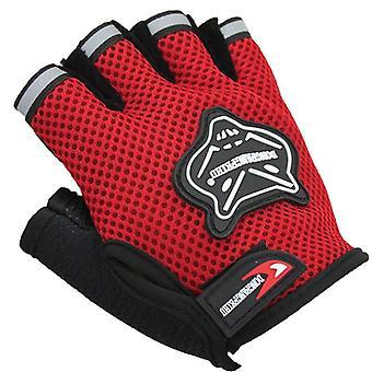 Kinderen Volwassenen Fiets Halve Vinger Handschoenen