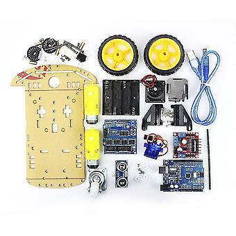 Smart Robot Motor Car Podvozok Diy Kit-ultrazvukový modul pre Arduino