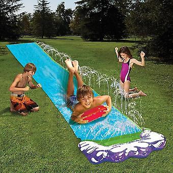 Single Water Slide Pvc Inflatable Fun Outdoor Lawn Backyard Spray Pools Summer